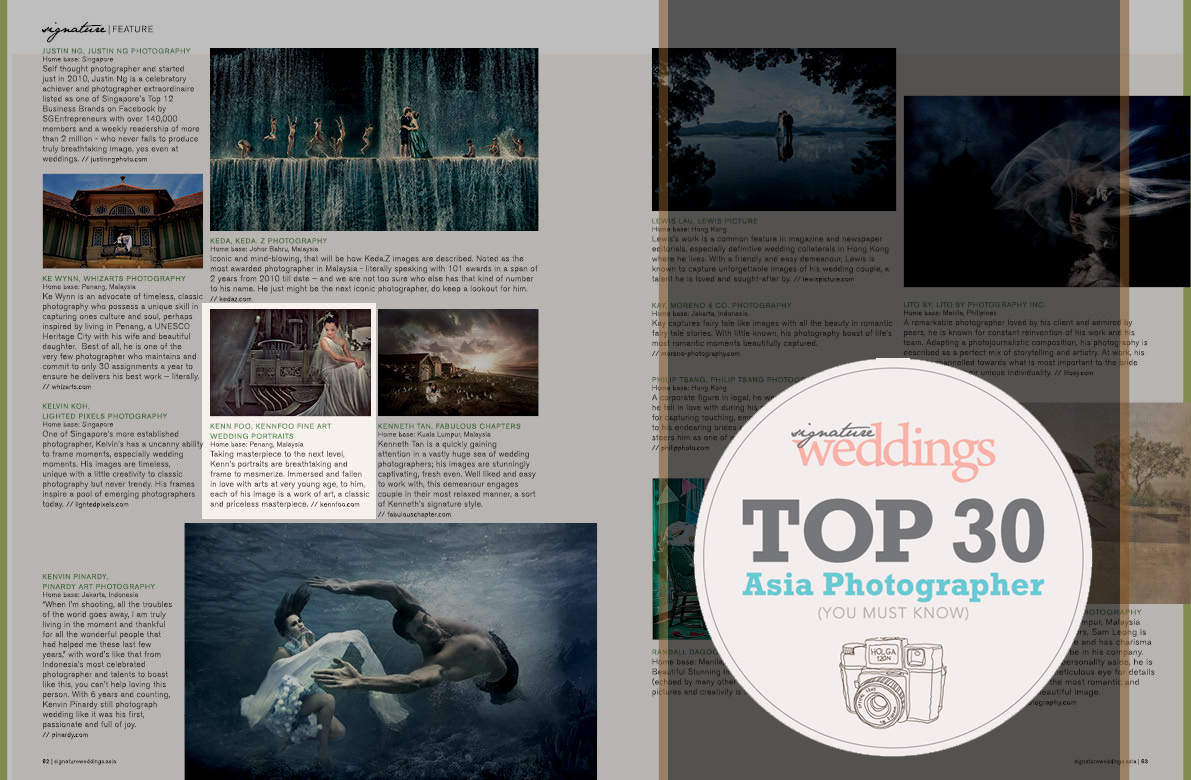 ASIA's TOP 30 PHOTOGRAPHER: We Are