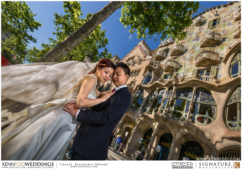 Barcelona Pre Wedding